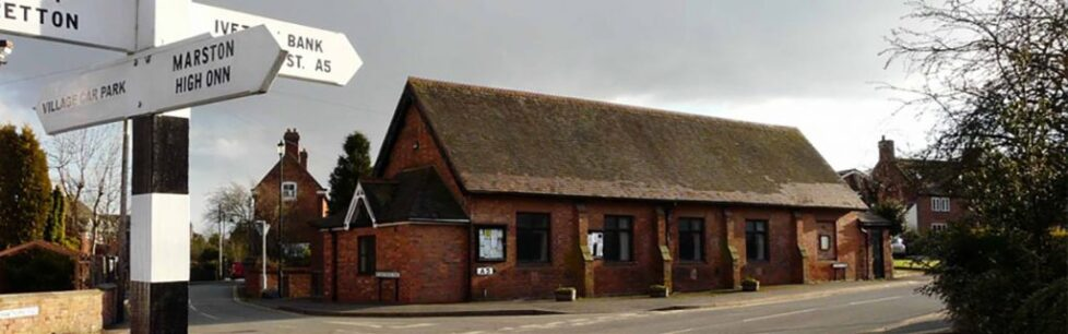 Wheaton Aston Village Hall
